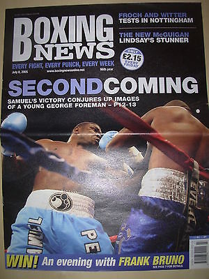 Boxing News 8 July 2005 Samuel Peter Defeats Taurus Sykes