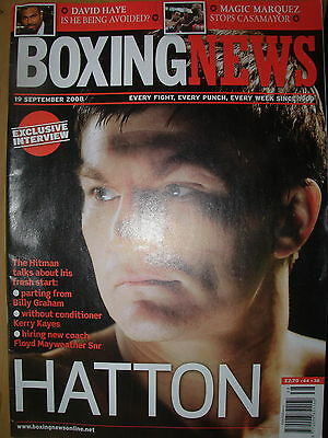 Boxing News 19 September 2008 Exclusive Interview With Ricky Hatton
