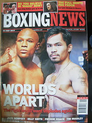 Boxing News 23 July 2010 Floyd Mayweather Manny Pacquiao The Fight They All Want