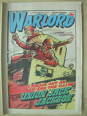 VINTAGE COMIC - WARLORD - No 266 - OCTOBER 27th 1979