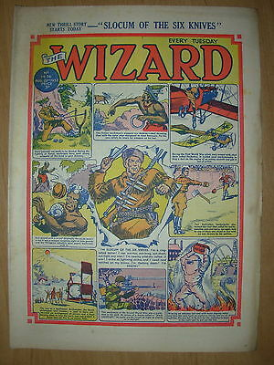 VINTAGE BOYS COMIC THE WIZARD No 1436 AUGUST 22nd 1953