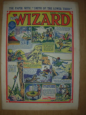 VINTAGE BOYS COMIC THE WIZARD No 1419 APRIL 25th 1953