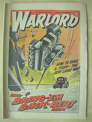 VINTAGE COMIC - WARLORD - No 243 - MAY 19th 1979
