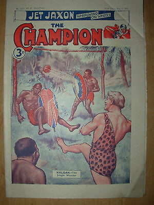 VINTAGE BOYS COMIC THE CHAMPION No 1579 MAY 3rd 1952