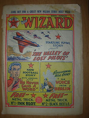 VINTAGE BOYS COMIC THE WIZARD No 1490 SEPTEMBER 4th 1954