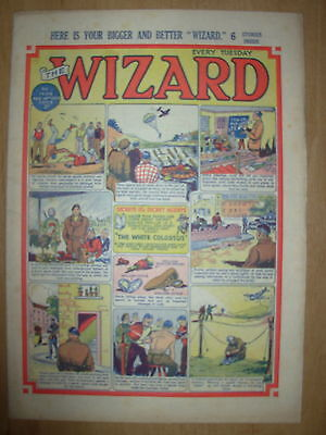 VINTAGE BOYS COMIC THE WIZARD No 1409 FEBRUARY 14th 1953