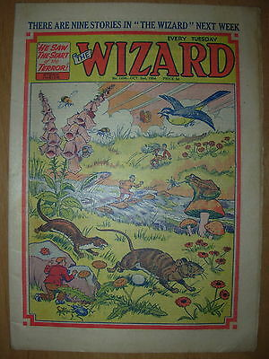 VINTAGE BOYS COMIC THE WIZARD No 1494 OCTOBER 2nd 1954