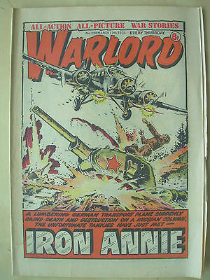 VINTAGE COMIC - WARLORD - No 234 - MARCH 17th 1979