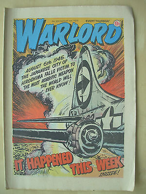 VINTAGE COMIC - WARLORD - No 254 - AUGUST 4th 1979