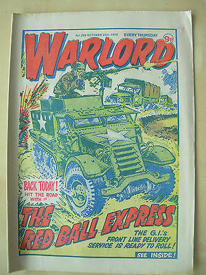 VINTAGE COMIC - WARLORD - No 265 - OCTOBER 20th 1979