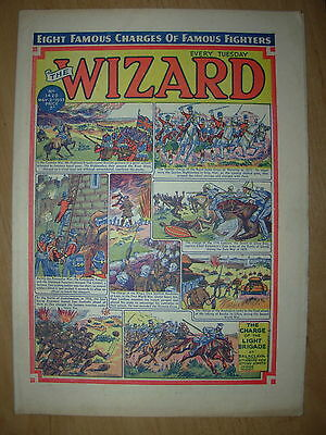 VINTAGE BOYS COMIC THE WIZARD No 1420 MAY 2nd 1953