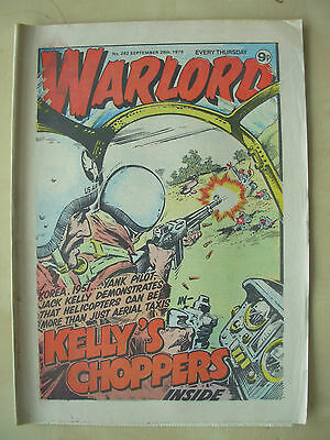 VINTAGE COMIC - WARLORD - No 262 - SEPTEMBER 29th 1979