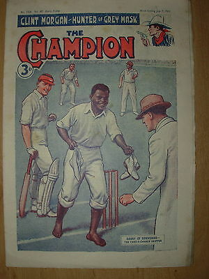 VINTAGE BOYS COMIC THE CHAMPION No 1536 JULY 7th 1951