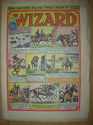 VINTAGE BOYS COMIC THE WIZARD No 1335 SEPTEMBER 15th 1951