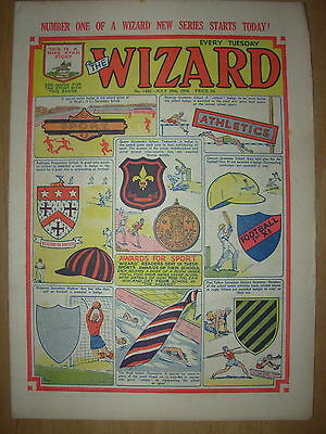 VINTAGE BOYS COMIC THE WIZARD No 1482 JULY 10th 1954