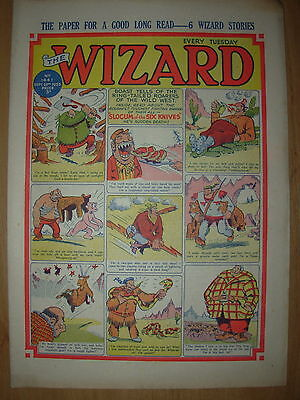 VINTAGE BOYS COMIC THE WIZARD No 1441 SEPTEMBER 26th 1953