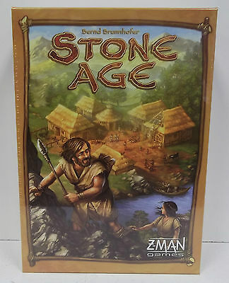 Stone Age Board Game  ZMG 71260  New