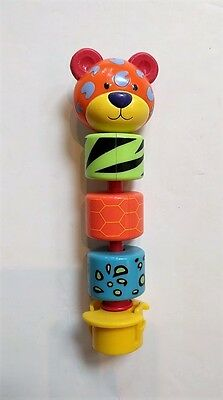 Evenflo Exersaucer Replacement Switch A Roo Cheetah Spinner Toy