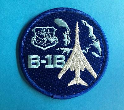 Rockwell B-1 Lancer US Airforce Stratigic Air Command Flight Suit Patch Crest