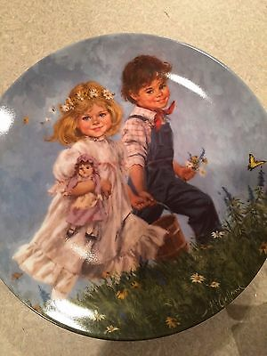 Collectible Plate Reco Jack and Jill 1986