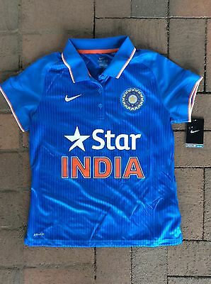 POLO SHIRT INDIA ONE DAY CRICKET SUPPORTERS TOP WOMEN'S size XL BRAND NEW