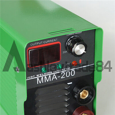 Portable 110V/220V Dual-voltage IGBT Inverter DC Welding Machine MMA-200D