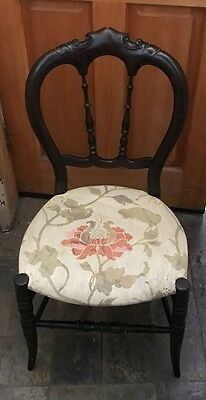 Vintage Chair Mahogany? Wood Fancy Carved