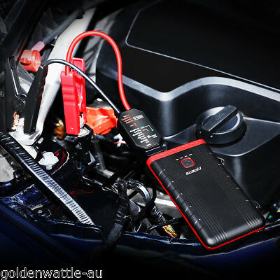 Mince 300A LED 8000mAh Car Jump Starter batterie Chargeur Booster Power Banque