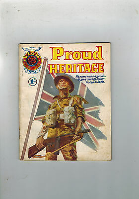 LION PICTURE LIBRARY No. 54 - 1965 - pocket library comic