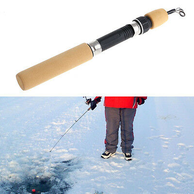 Portable Pocket Winter Ice Fishing Fish Rod Mini Tackle Spinning Casting 60CM
