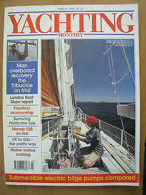 YACHTING MONTHLY MAGAZINE MARCH 1996 No 1075