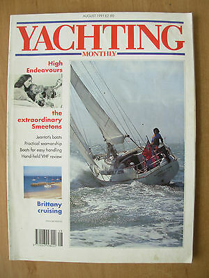 YACHTING MONTHLY MAGAZINE AUGUST 1991 No 1020