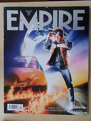 EMPIRE FILM MAGAZINE No 250 APRIL 2010 BACK TO THE FUTURE SUBSCRIBERS ISSUE