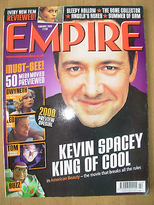 EMPIRE FILM MAGAZINE No 128 FEBRUARY 2000 KEVIN SPACEY - AMERICAN BEAUTY