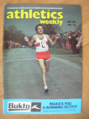 ATHLETICS WEEKLY MAY 26th 1979 SUCCESS FOR GATESHEAD IN AAA ROAD RELAY
