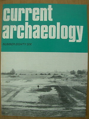 CURRENT ARCHAEOLOGY MAGAZINE No 86 MARCH 1983