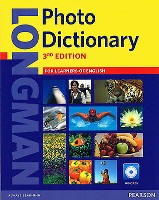 LONGMAN PHOTO DICTIONARY w Audio CDs 3rd Edition | English British @EXCELLENT@