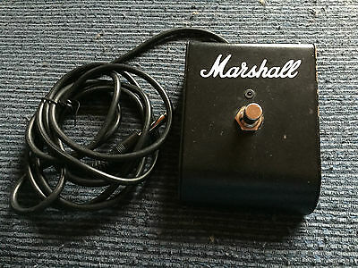 Marshall PED801 Single Button Guitar Amplifier Stomp Switch Foot Switch