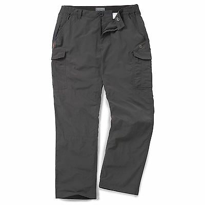 Craghoppers Nosilife Mens Cargo Travel Lightweight Trousers Mosquito Repellent