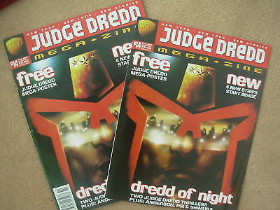 JUDGE DREDD MEGAZINE No 14 FEBRUARY 1996 + FREE GIFT