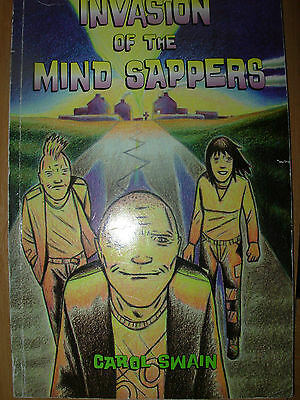 Invasion Of The Mind Sappers American Graphic Novel Comic Book