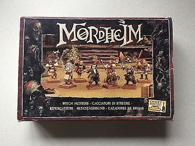 Warhammer Games Workshop Mordheim Witch Hunters Warband *Boxed* OOP RARE