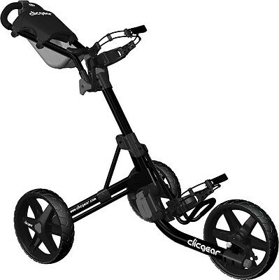 BRAND NEW 2017 Clicgear 3.5 3 Wheel Trolley (MULTIPLE COLOURS)