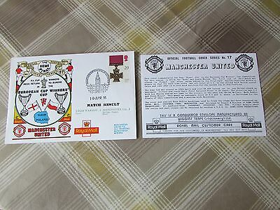 LEGIA Warsaw v MANCHESTER United 1991 Euro SEMI Final FOOTBALL First Day Cover