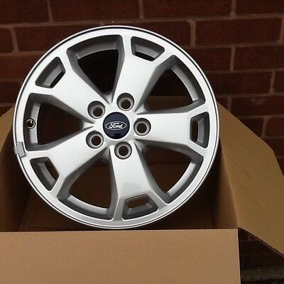 "4 X Genuine 16"" Ford Transit Connect (new Shape) Alloy Wheels Only"