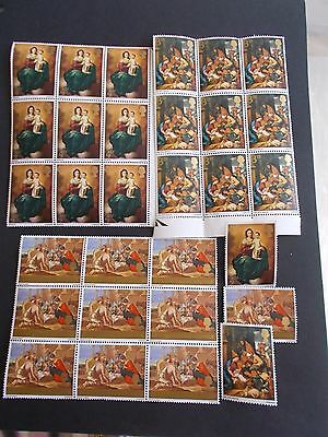 GB Wholesale Offer 1967 Christmas x 10 Sets Superb U/M Silly Price & FREE p&p