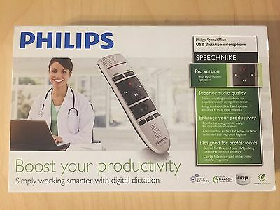 Philips SpeechMike PRO USB Wired Dictation Microphone LFH3200/00