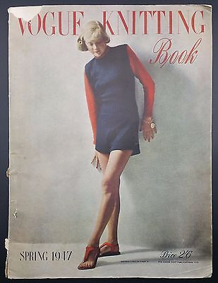 Vogue Knitting Book, Spring 1947