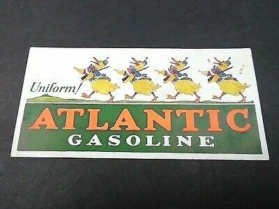 Vintage ATLANTIC Oil & Gasoline Advertising Promo Card