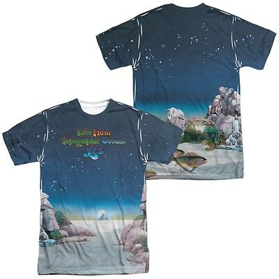 Official Yes Tales from Topographic Oceans Album Record Cover Allover T-shirt